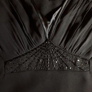 Jones New York Dresses - Jones New York Black Silk Evening Dress - Sz 6